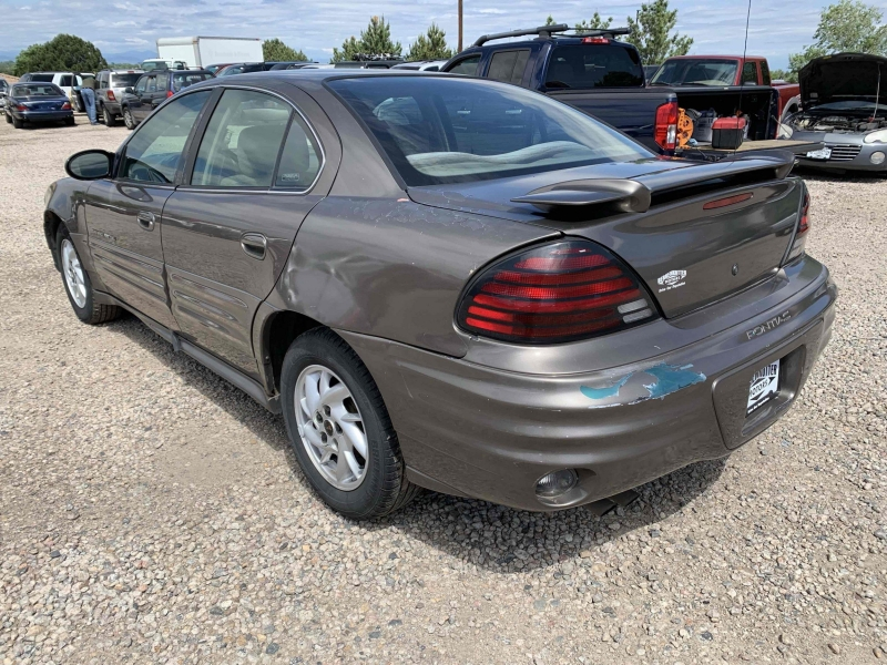 Pontiac Grand Am 2002 price $4,490