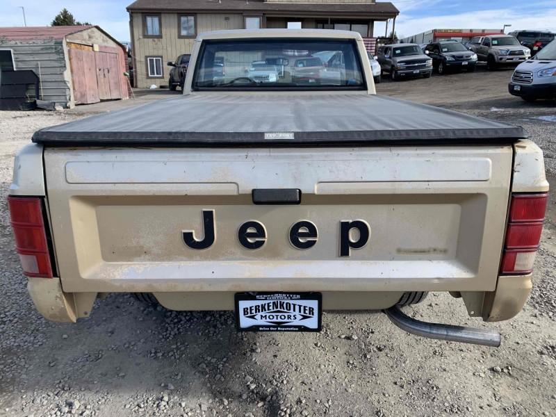 Jeep Comanche 1986 price $5,995