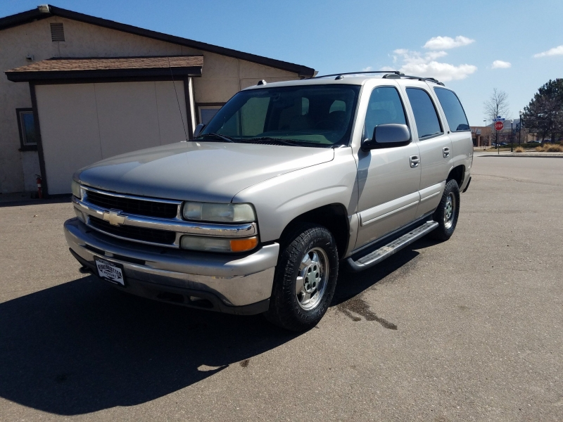 Chevrolet Tahoe 2004 price $2,995