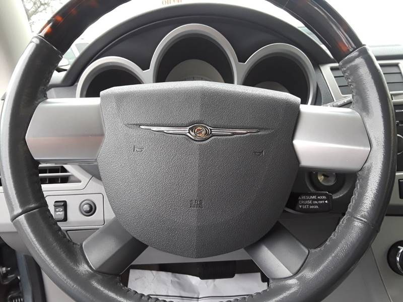 2008 Chrysler Sebring Limited 2dr Convertible Inventory