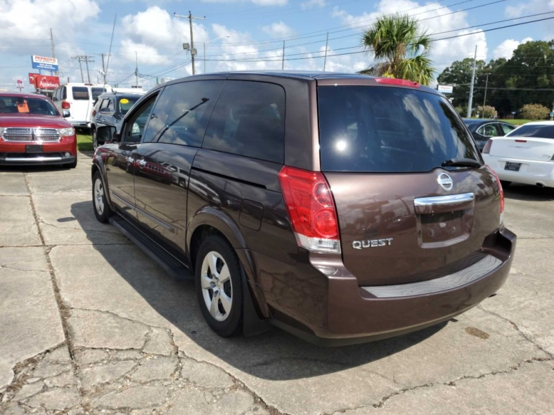 NISSAN QUEST 2007 price $3,995