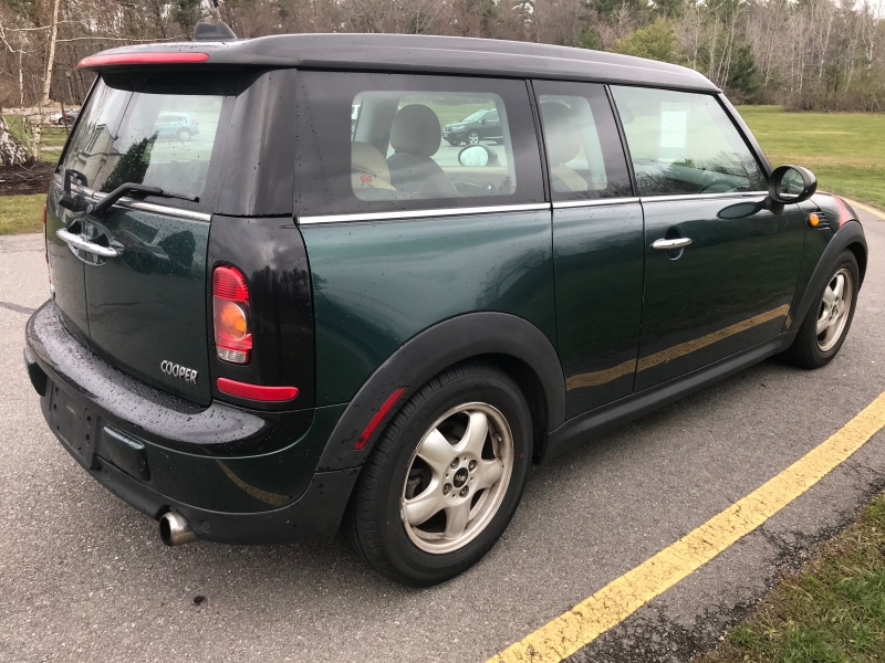 Mini Cooper Clubman 2009 price $3,990