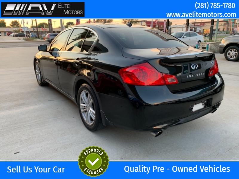 Infiniti G25 Sedan 2012 price $7,499