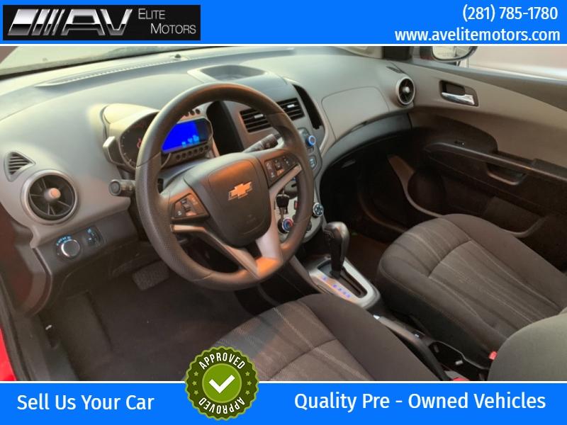 Chevrolet Sonic 2015 price $5,800