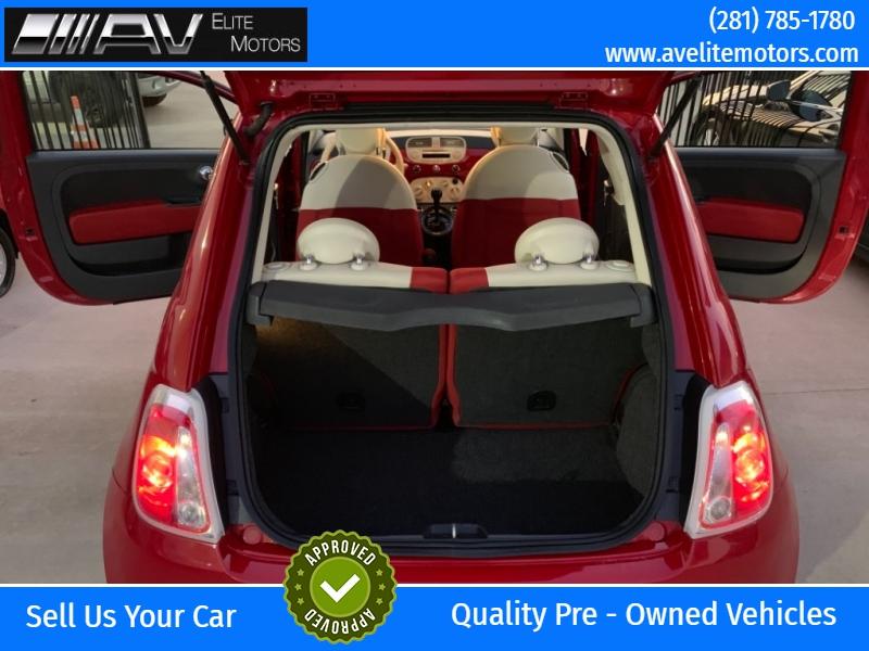 Fiat 500 2013 price $5,800