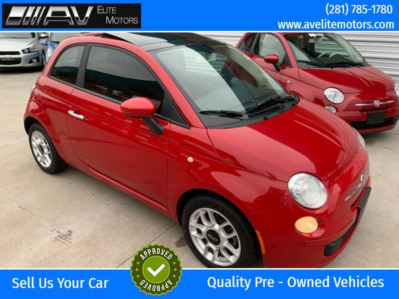 Fiat 500 2012 price $4,250