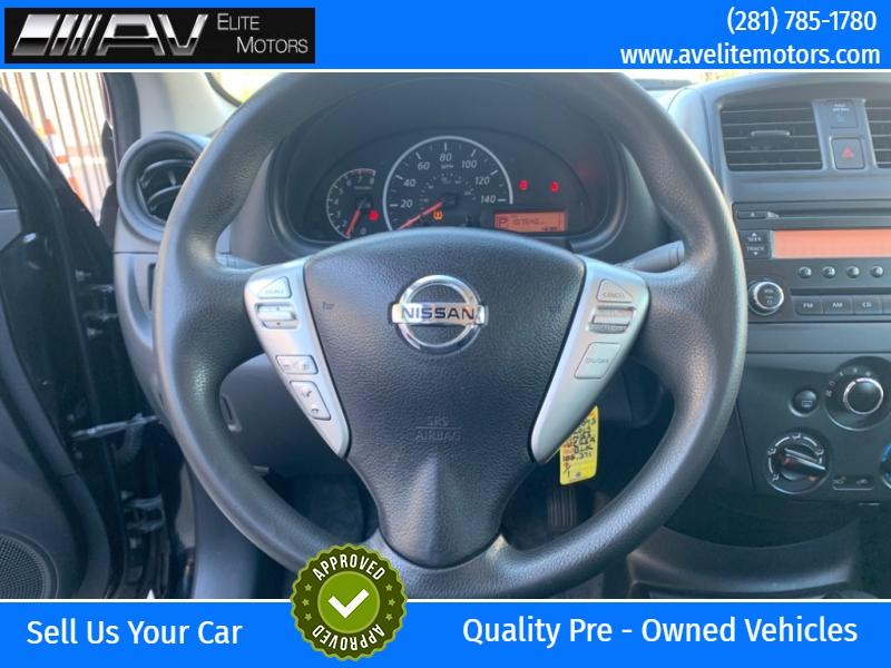 Nissan Versa 2015 price $5,250