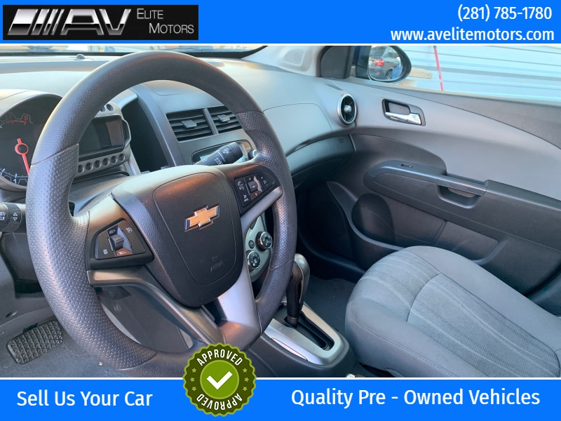 Chevrolet Sonic 2013 price $5,250