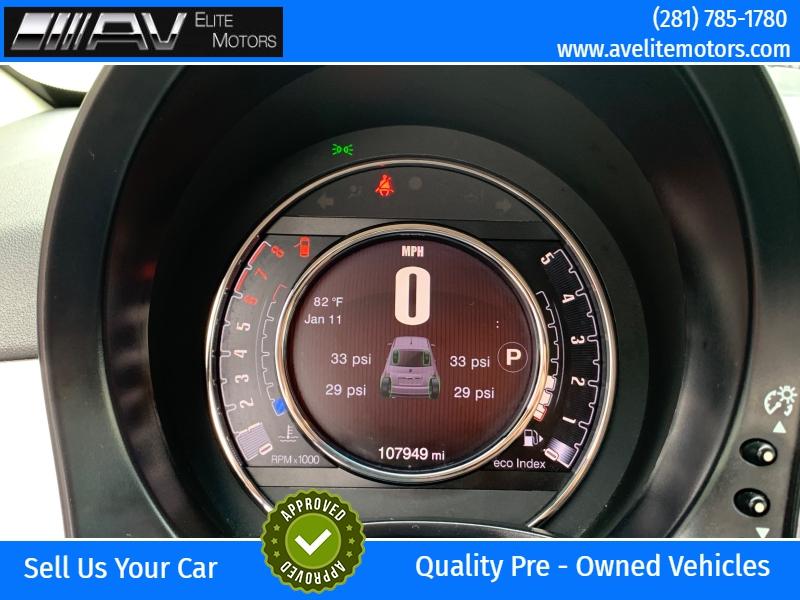 Fiat 500 2015 price $5,250