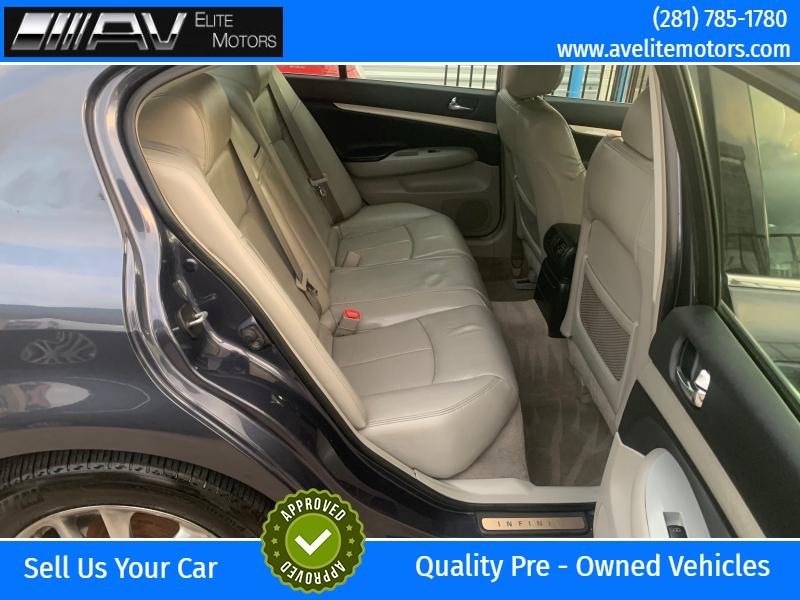 Infiniti G35 Sedan 2007 price $4,900