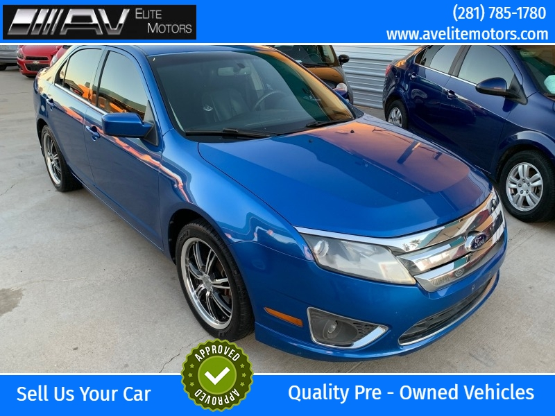 Ford Fusion 2012 price $6,450