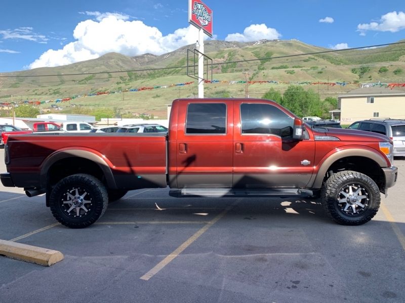 FORD F350 KING RANCH 2015 price $34,900