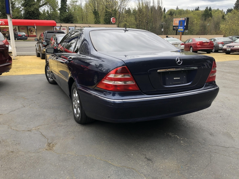 Mercedes-Benz S-Class 2000 price Call for Pricing.