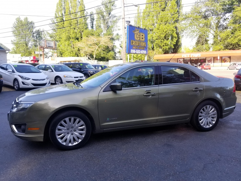 Ford Fusion Hybrid 2012 price $8,971
