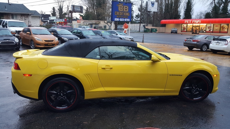 Chevrolet Camaro 2015 price $14,971