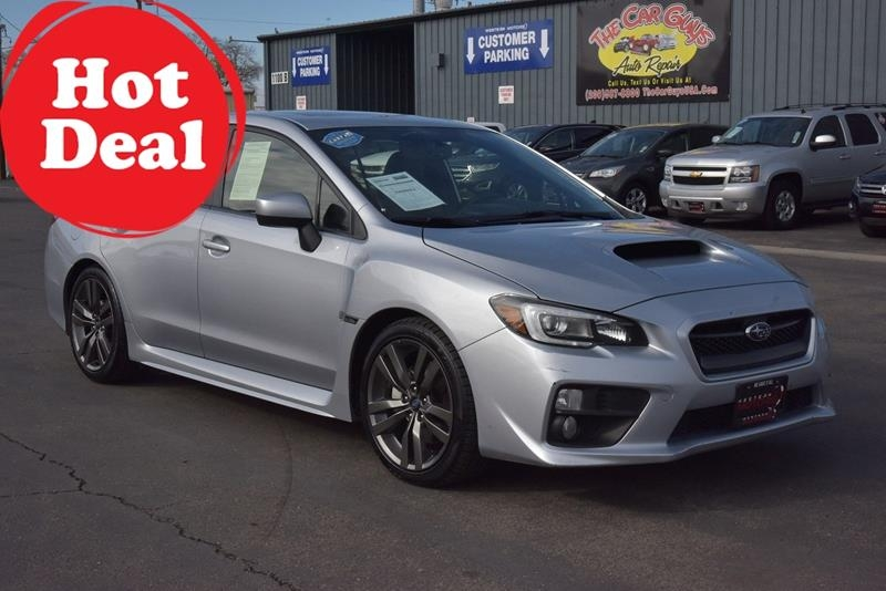 Subaru WRX 2016 price $24,999