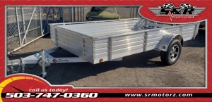 6'X12'X16 SOLID SIDES GVWR 2990 DELUXE STERLING 2019