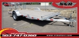 7'X14' SINGLE AXLE SILVER EAGLE ATV 5200LB AXLE EAGLE TRAILER MFG 2019