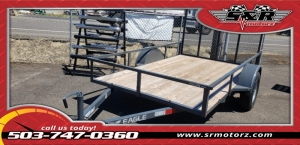 6'x10' Single Axle Falcon Sport Eagle Trailer MFG 2019