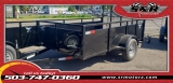 6'X10' SINGLE AXLE FALCON UTILITY Eagle Trailers MFG 2019