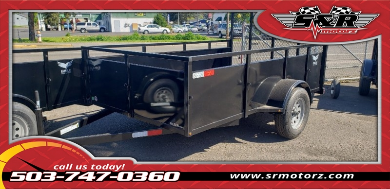 2019 6'X10' SINGLE AXLE FALCON UTILITY Eagle Trailers MFG