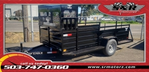6'X12' SINGLE AXLE ULTRA CLASSIC W/LANDSCAPE PKG. Eagle Trailers MFG 2019