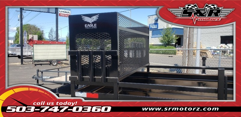 6'X12' SINGLE AXLE ULTRA CLASSIC W/LANDSCAPE PKG. Eagle Trailers MFG 2019 price On the Lot Today