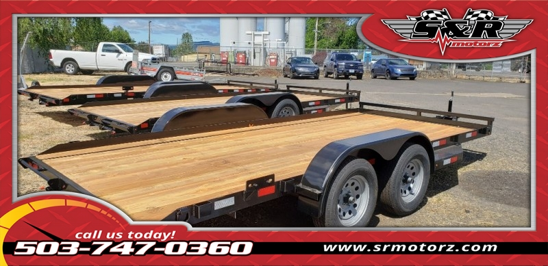 7x16 Flatbed Falcon 7K Eagle Trailers MFG 2019 price On The Lot Today!