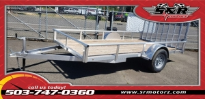 6'X12' SINGLE AXLE SILVER EAGLE SPORT EAGLE TRAILER MFG 2019