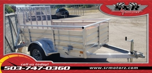 5'X8' SINGLE AXLE ULTRA LITE Eagle Trailers MFG 2019