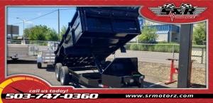 6x12 Dump 7k Eagle Trailer MFG 2019