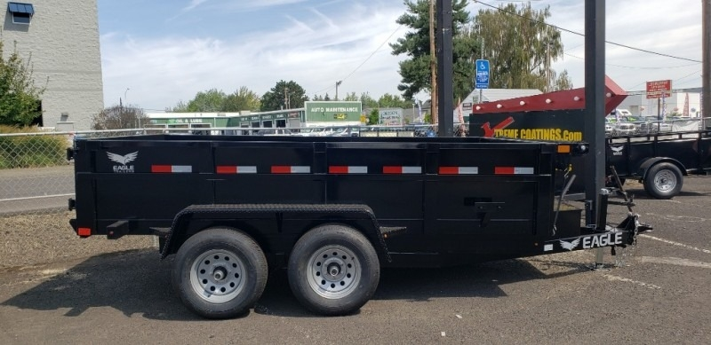 6x10 Eagle Dump 10K Eagle Trailer 2019 price $6,299