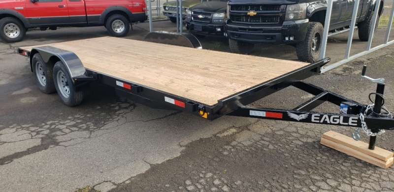 7x18 Flatbed 7K Eagle Trailer 2020 price $3,399