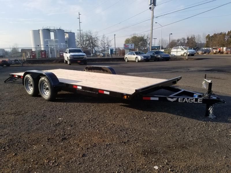 7x18 (4 Frame) Tandem Axle Flatbed 7K (Brakes Bot Eagle Trailer Manufacturer 2020 price $2,995