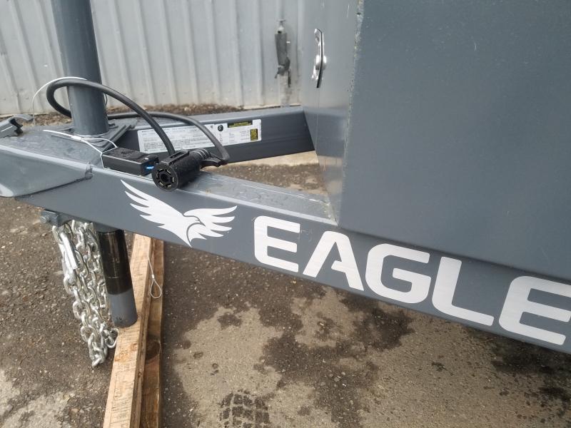 6x12 Dump 7K Eagle Trailer 2020 price $6,200