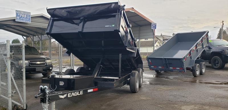 7X12 Dump 10k Eagle Trailer 2020 price $6,999