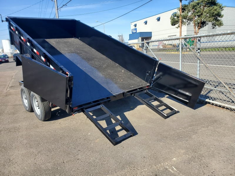 6x12 Dump 7K ramps Eagle Trailer 2020 price $6,299