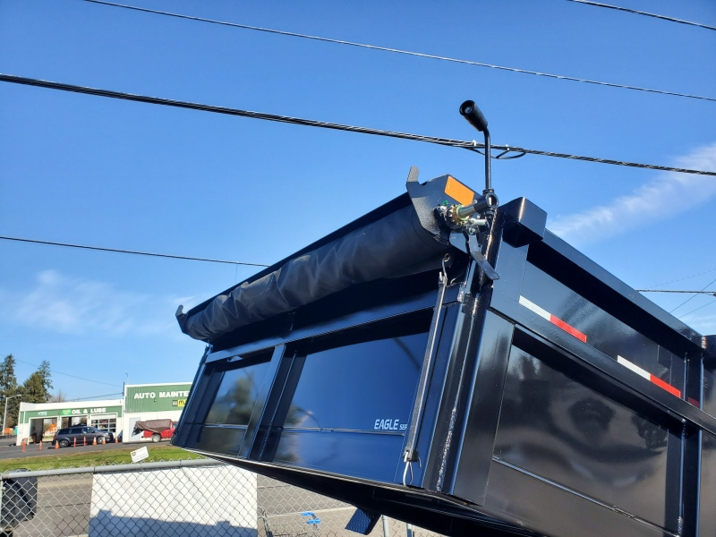 7x12 Dump 10K ramps Eagle Trailer 2020 price $6,999