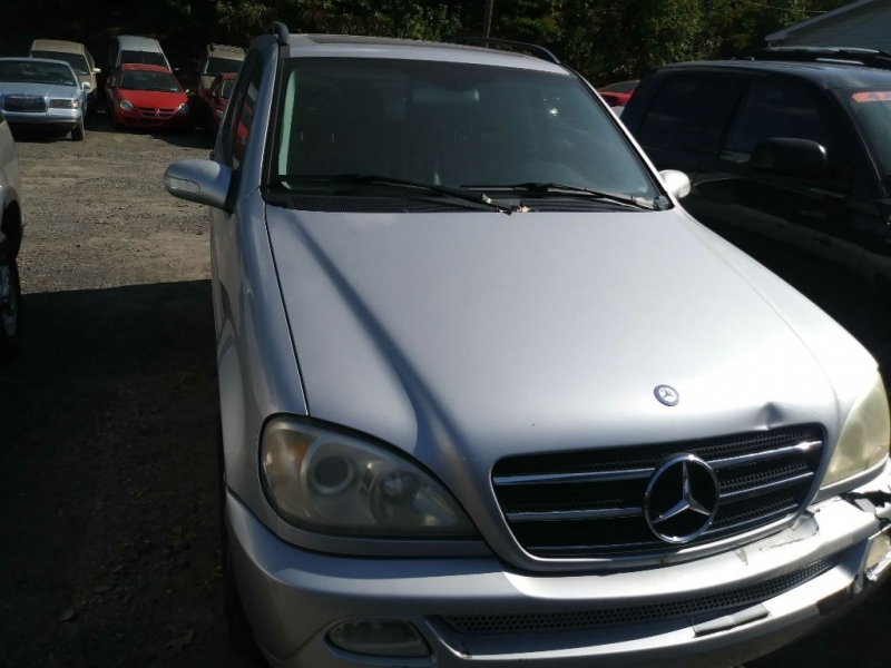 MERCEDES-BENZ M-CLASS 2002 price Call for Pricing.