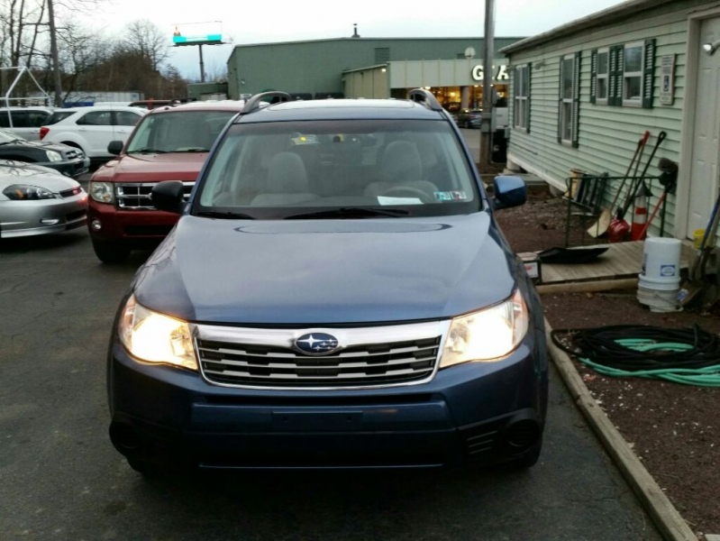 SUBARU FORESTER 2009 price $6,495