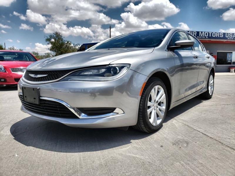 Chrysler 200 2015 price $10,500