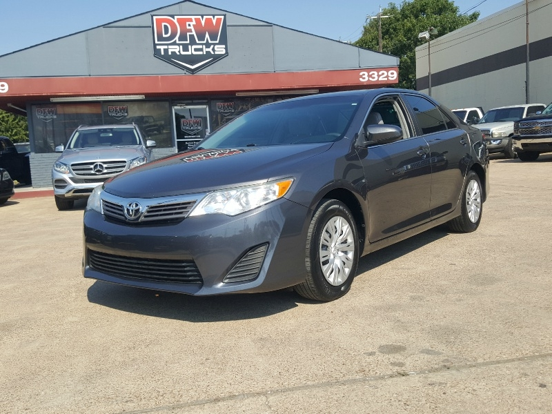 Toyota Dealerships Dfw >> 2014 Toyota Camry L
