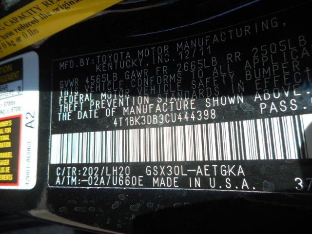 TOYOTA AVALON 2012 price $9,995