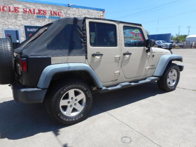 JEEP WRANGLER UNLIMI 2011 price $11,950