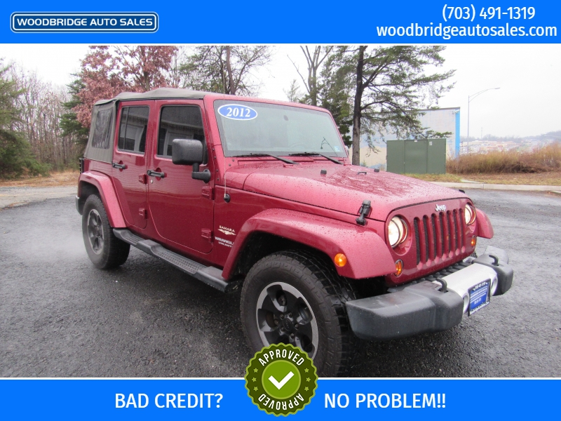Jeep Wrangler Unlimited 2012 price $15,995