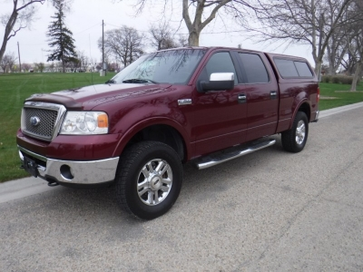 2006 Ford F-150 SuperCrew Cab Lariat // 4x4 // Loaded!