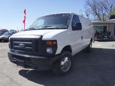 2010 Ford E250 Cargo Extended Van 3D