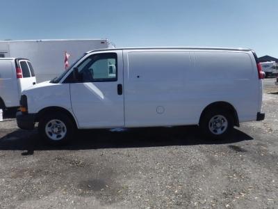 2008 Chevrolet Express 1500 Cargo Van 3D