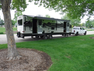 2017 Forest River Avenger // Brand New!!! Fema Trailer