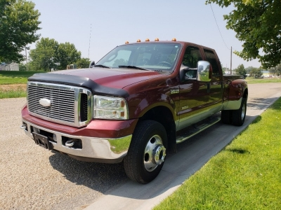 2006 Ford F350 Super Duty Crew Cab Lariat Pickup 4D 6 3/4 ft